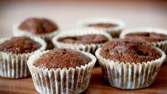Как приготовить классические шоколадные маффины