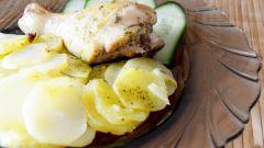 Как приготовить курицу с картошкой в пакете для запекания