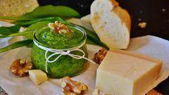Как приготовить соус «Песто» с грецкими орехами