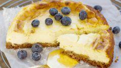 Как приготовить лимонный чизкейк с творогом