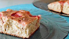 Пирог с замороженной клубникой: пошаговый рецепт с фото