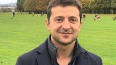 Комик и бывший участник КВН Зеленский может стать президентом Украины