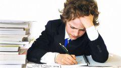 Школьное домашнее задание: основные понятия, помощь ребенку