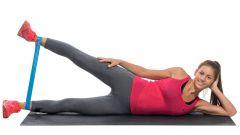 Тренировка с эластичной лентой на все группы мышц