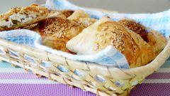 Слоеные пирожки с творогом: пошаговый рецепт с фото
