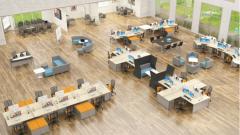 Преимущества работы в open-space офисах