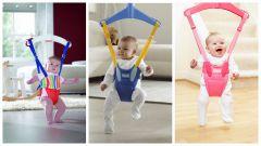 Детские прыгунки: польза и вред
