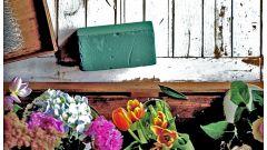 Флористическая губка: что это такое и как правильно использовать