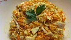 Как приготовить вкусный и простой салат «Обжорка»