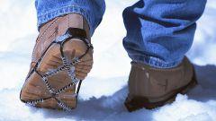 Что делать, если скользит обувь зимой