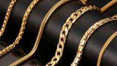 Как выбрать золотое колье