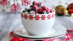 Клюква под снегом – простой и полезный зимний десерт