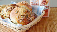 Дрожжевые булочки: пошаговый рецепт с фото