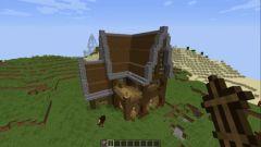 Как в майнкрафте с помощью командного блока построить дом