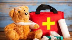 Путешествие с ребенком. Что положить в аптечку?