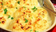 Как приготовить запеканку из цветной капусты с сыром