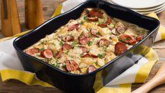 Как приготовить 2 простых блюда с сосисками