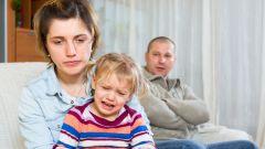 Как не погубить психику детей в случае развода