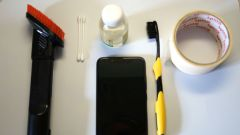 Как почистить динамик телефона в домашних условиях