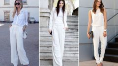 3 вещи белого цвета, которые нужно иметь в гардеробе