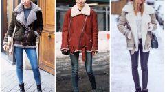 Как носить дубленку стильно