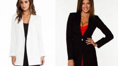 С чем носить удлиненный пиджак