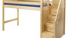 Какие лестницы бывают у кроватей-чердаков