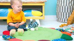 Как сшить коврик в виде цветика-семицветика