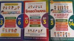 Детская развивающая методика «Буквограмма»
