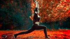Йога и похудение: «поза воина»