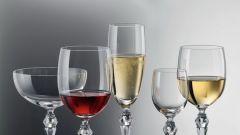 Виды бокалов для вина (фото)