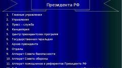 Структура администрации президента РФ