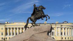 Медный всадник: описание памятника Петру Первому