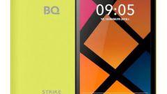 Смартфон BQ Strike 5020: характеристики и описание