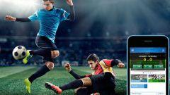 Как делать ставки на футбол через телефон