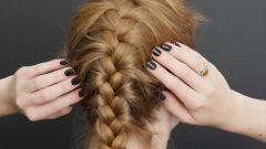 Как заплести колосок самой себе на длинные волосы пошагово