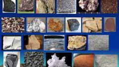 Горная порода: виды горных пород