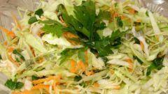 Весенние салаты из свежих овощей