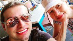 Гоген Солнцев и его жена: фото