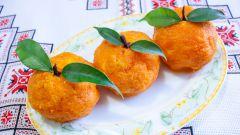 """Как сделать сырные шарики """"Мандаринки"""" с чесноком и морковью"""