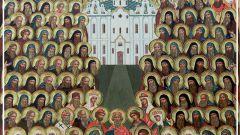 Русские православные святые: список