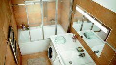 Как обустроить небольшую ванную комнату: 5 решений