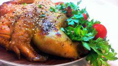 Курица в медово-горчичном маринаде: ингредиенты