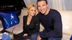 Владимир Кличко с женой: фото