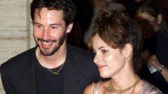 Киану Ривз и его жена: фото