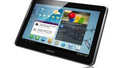 Планшет Samsung Galaxy Tab 2: характеристики