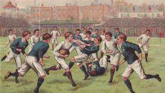 История регби как спортивной игры