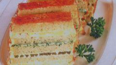 Как сделать бутербродный торт со спаржей