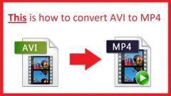 Как mp4 перевести в avi бесплатно