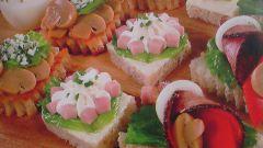 Пять видов закусочных бутербродов: рецепты с фото